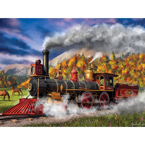 Full Steam Ahead 500 Piece Jigsaw Puzzle