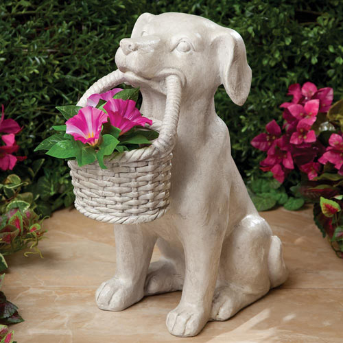 Dog Basket Planter