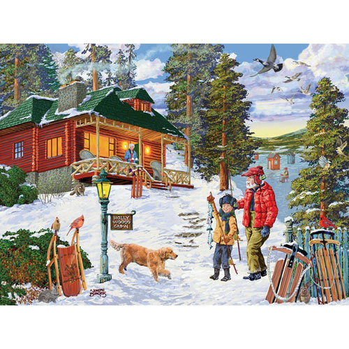Fun with Grandpa 300 Large Piece Jigsaw Puzzle