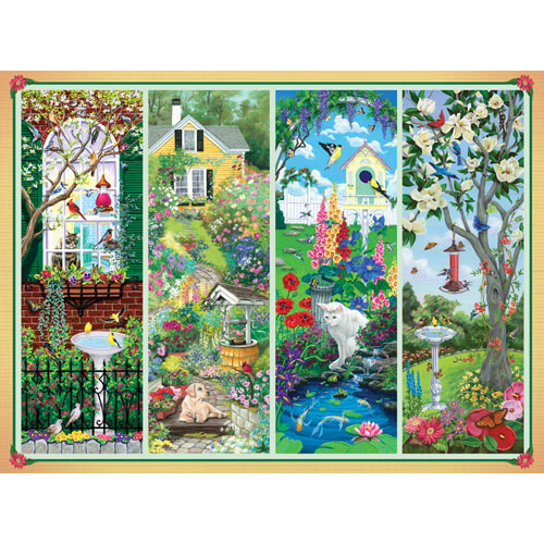 Garden Treasures 1000 Piece Jigsaw Puzzle