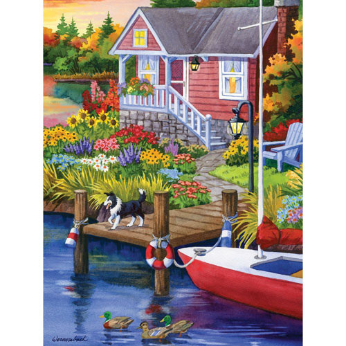 Lakeside Retreat 300 Large Piece Jigsaw Puzzle