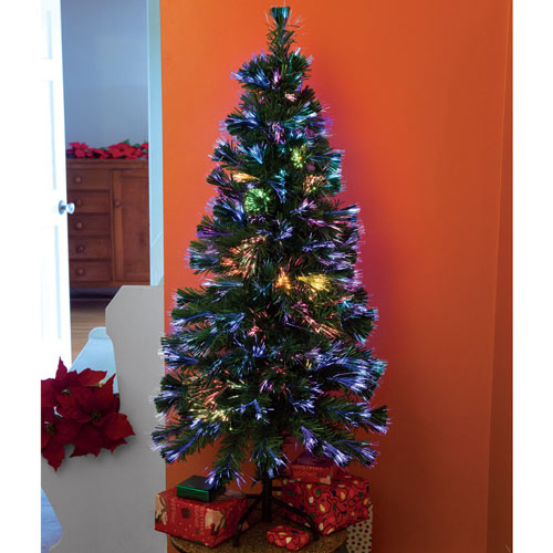 18 Inch Fiber Optic Christmas Tree