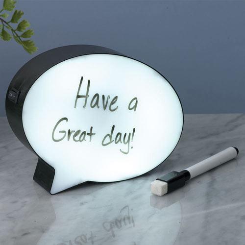 Light-up Dry Erase Board