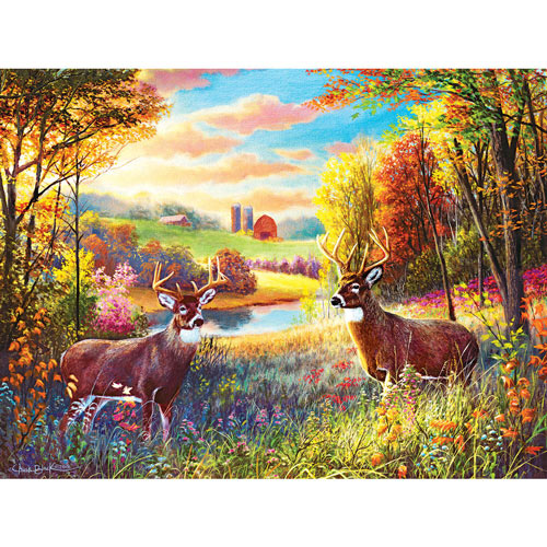 Spring In The Meadow 500 Piece Jigsaw Puzzle