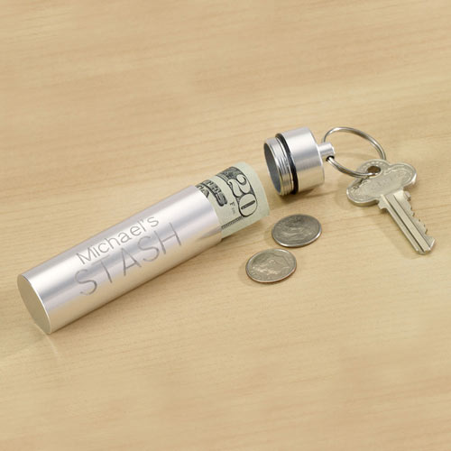 Personalized Hide Your Stash Cylinder