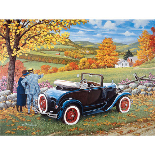 Sunday Drive 300 Large Piece Jigsaw Puzzle