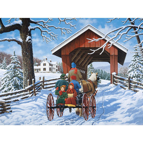 To Grandmother's House 500 Piece Jigsaw Puzzle