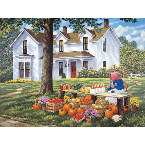 Farm Fresh 500 Piece Jigsaw Puzzle