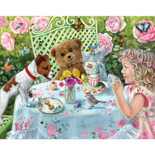 Tito's Tea Party 300 Large Piece Jigsaw Puzzle