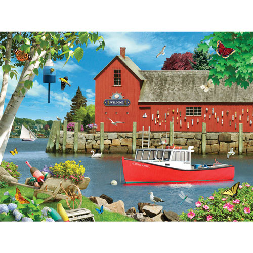 Heavenly Harbor 300 Large Piece Jigsaw Puzzle