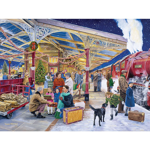 Coming Home For Christmas 500 Piece Jigsaw Puzzle