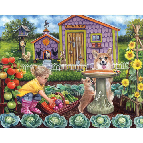 Harvest Time 500 Piece Jigsaw Puzzle