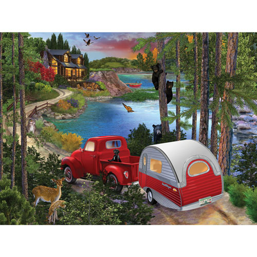 Bear Right 300 Large Piece Jigsaw Puzzle