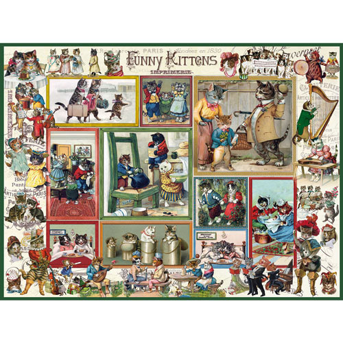 Funny Kittens 300 Large Piece Jigsaw Puzzle