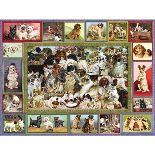 Lots Of Dogs 500 Piece Jigsaw Puzzle