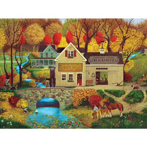 Cricket Hollow 500 Piece Jigsaw Puzzle