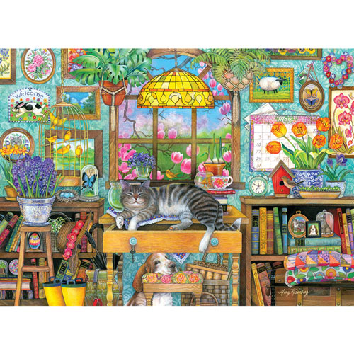 Spring Snooze 500 Piece Giant Jigsaw Puzzle
