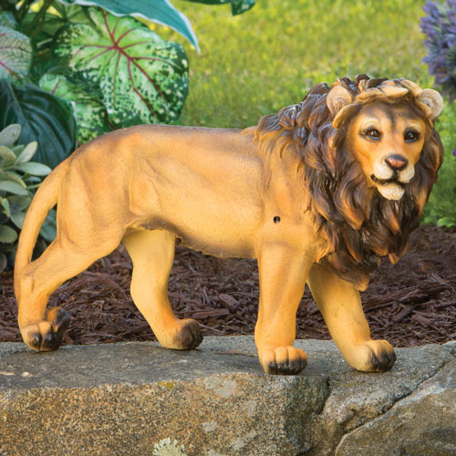 Motion Sensor Lion