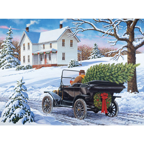 The Drive Home 300 Large Piece Jigsaw Puzzle