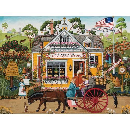 Sophie's Honey Hut 300 Large Piece Jigsaw Puzzle