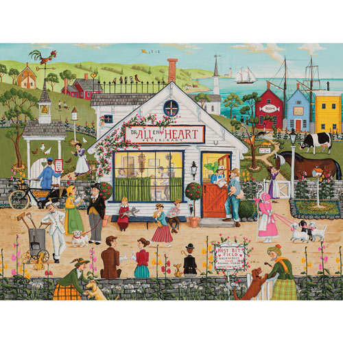 All Heart Veterinary 300 Large Piece Jigsaw Puzzle