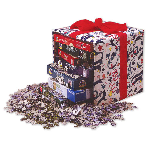 Five 1000 Piece Jigsaw Value Pack