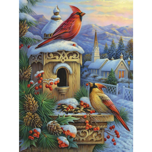 Waiting For The Evening Feast 500 Piece Jigsaw Puzzle