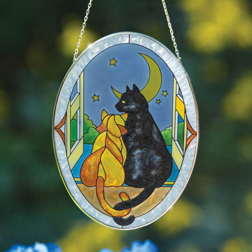 Cats In Love Suncatcher