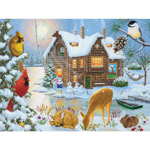 Winter Retreat 300 Large Piece Jigsaw Puzzle