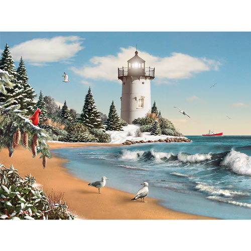 Morning Glory II 500 Piece Jigsaw Puzzle