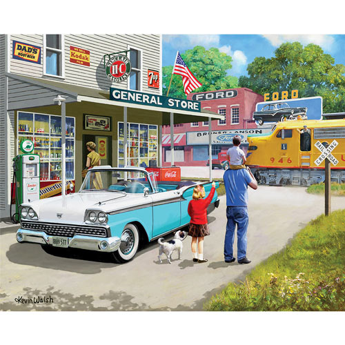 American Classic 1000 Piece Jigsaw Puzzle