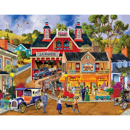 Jerrigan Bros General Store 1000 Piece Jigsaw Puzzle