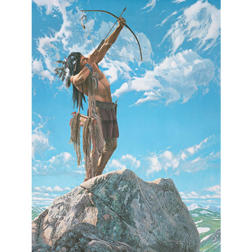 Sky Hunter 500 Piece Jigsaw Puzzle