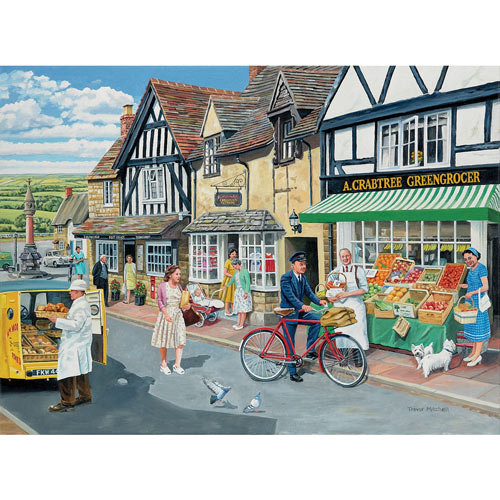 Letters For The Greengrocer 500 Piece Jigsaw Puzzle