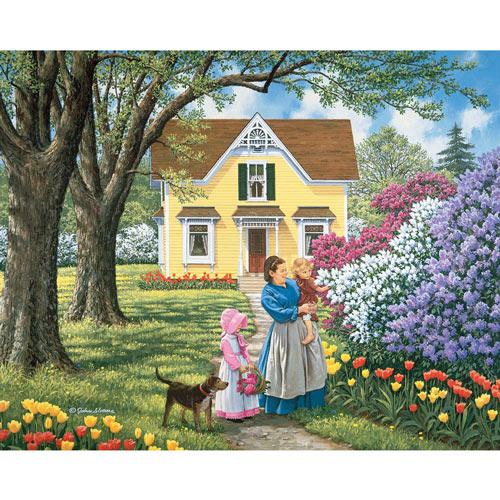 Precious Flowers 300 Large Piece Jigsaw Puzzle