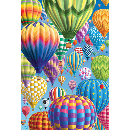 Balloon Festival 300 Large Piece Jigsaw Puzzle