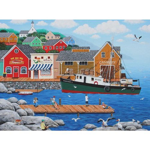 Fish And More Fish 300 Large Piece Jigsaw Puzzle