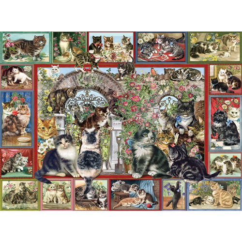 Lots Of Cats 1000 Piece Jigsaw Puzzle
