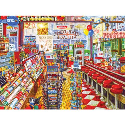 Five & Dime Store 500 Piece Jigsaw Puzzle