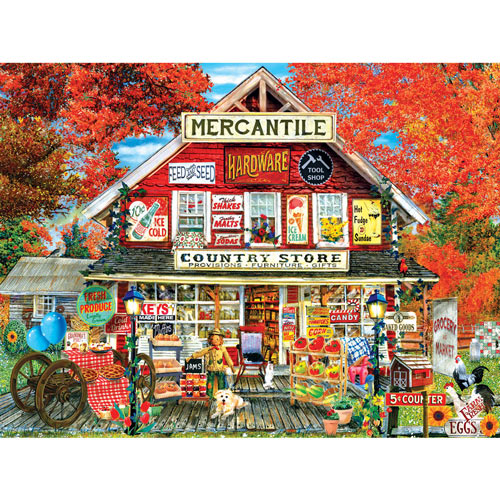 General Store 500 Piece Jigsaw Puzzle