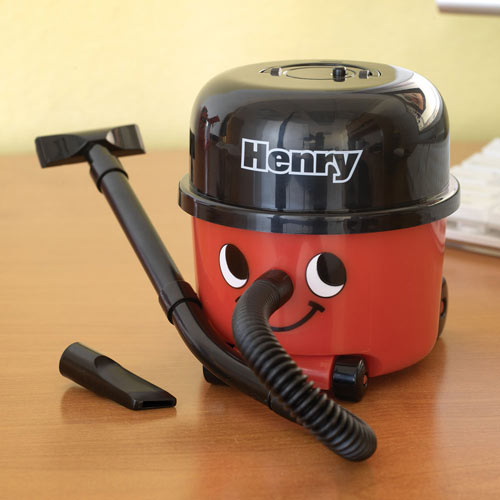 Henry Desk Top Vac