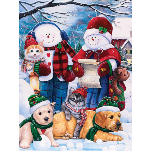 Winter Wonder Friends 300 Large Piece Jigsaw Puzzle