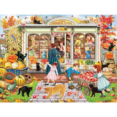 Manfred's General Store 300 Large Piece Jigsaw Puzzle
