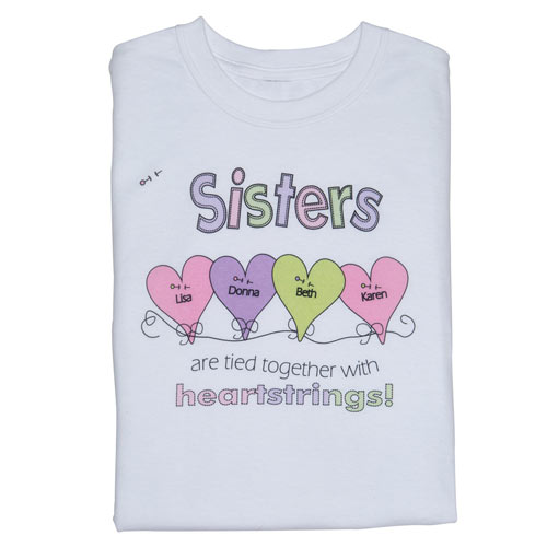 Sisters Personalized T-Shirt