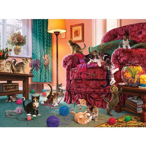 Naughty Kittens 1000 Piece Jigsaw Puzzle