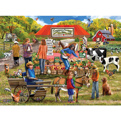 Farm Fresh 300 Large Piece Jigsaw Puzzle