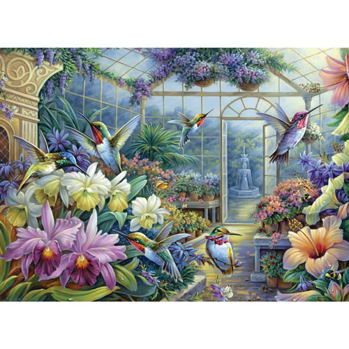 Antique Greenhouse 500 Piece Jigsaw Puzzle