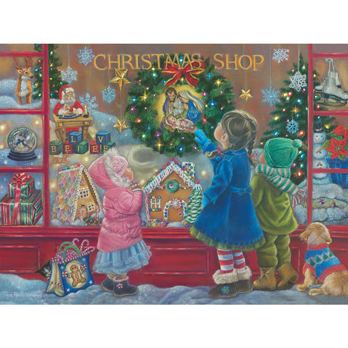 Christmas Blessing 500 Piece Jigsaw Puzzle