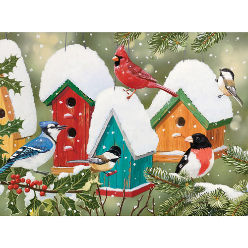 Winter Village 300 Large Piece Jigsaw Puzzle