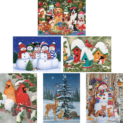 Set of 6: William Vanderdasson 1000 Piece Jigsaw Puzzles